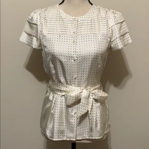 Marc by Marc Jacobs silk blouse Polka dots size 2